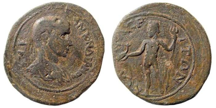 Ancient Coins - Kilikia, Kelenderis. Gordian III, 238-244 AD. AE 31mm (16.12 gm). SNG Levante 553 (same dies). Rare