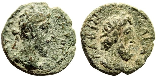 Ancient Coins - Syria, Decapolis. Canata-Canatha. Commodus. 177-192 AD. AE 22mm (7.00 gm). Spijkerman 6