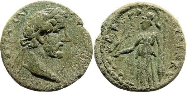 Ancient Coins - Cilicia, Seleucia ad Calycadnum. Antoninus Pius. 138-161 AD. AE 23mm (6.65 gm). SNG Switzerland 723 (same dies); Ziegler, Sammlungen, 418 (same dies); SNG von Aulock 5822 (same die