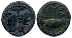 Ancient Coins - Augustus & Agrippa - Dupondius 10BC-10AD - RIC 158