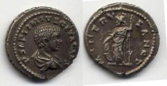 Ancient Coins - GETA - denarius 202 AD