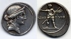 Ancient Coins - OCTAVIAN - denarius 32-29 BC
