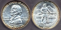 Us Coins - FT. VANCOUVER 1925  50c ..   ICG  MS64 Beauty!