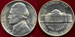 Us Coins - 1952-D  5c  GEM UNCIRCULATED