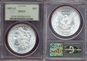 Us Coins - 1901-O  Morgan $1  ......  PCGS MS63