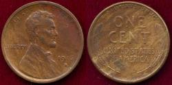 Us Coins - 1916-S LINCOLN 1c  AU