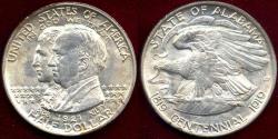 Us Coins - ALABAMA 1921  50c Commemorative  MS65