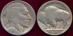 Us Coins - 1918-D BUFFALO 5c  VG