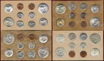 Us Coins - 1957 OFFICIAL U.S. MINT SET