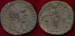 Ancient Coins - ANTONINUS PIUS  157-158 AD