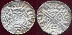 World Coins - ENGLAND 1216-1272  HENRY III  SILVER PENNY   XF