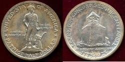 Us Coins - LEXINGTON CONCORD 1925  50c Commemorative  MS64