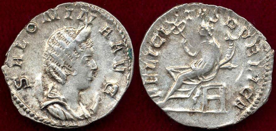 Ancient Coins - SALONINA 257-259 AD  ANTONINIANUS