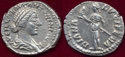 Ancient Coins - LUCILLA  wife of LUCIUS VERUS  161-169 AD  DENARIUS