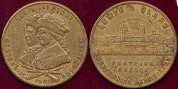 Us Coins - LEWIS & CLARK EXPOSITION 1905  PORTLAND, ORE