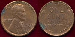 Us Coins - 1925-S LINCOLN 1c  MS UNC ... original color