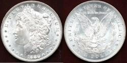 Us Coins - 1880-CC  REV of 1878 MORGAN  $1 ...... PCGS   MS64