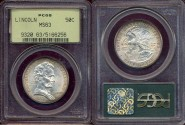 Us Coins - LINCOLN-ILLINOIS  1918 ...... PCGS MS63
