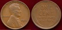 Us Coins - 1924-D LINCOLN 1c.... FINE