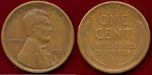 Us Coins - 1921-S LINCOLN 1c ....  EXTRA FINE