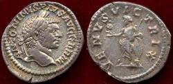 Ancient Coins - CARACALLA 216 AD  Denarius  (VENUS)