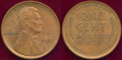 Us Coins - 1910 LINCOLN 1c MS63BN with some mint red