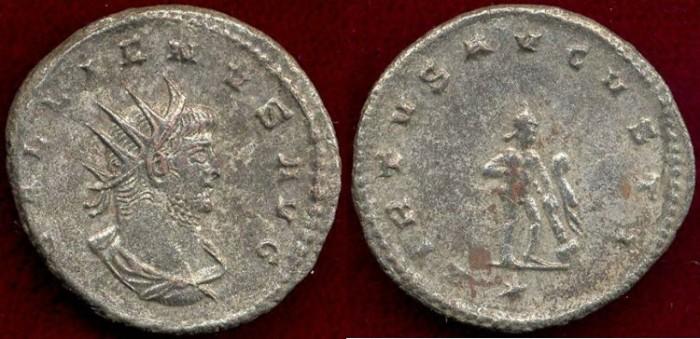 Ancient Coins - GALLIENUS  264 AD   ANTONINIANUS