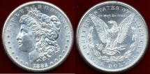 Us Coins - 1882-CC   Morgan $1 ......  PCGS MS63