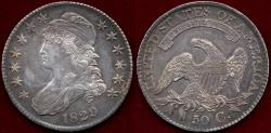 Us Coins - 1829 BUST 50c AU55