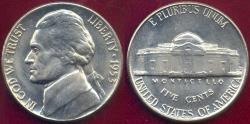 Us Coins - 1953-D JEFFERSON 5c  MS66