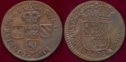World Coins - SPANISH NETHERLANDS 1679-1691  1 Oord ...BRABANT