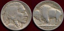 Us Coins - 1925-D BUFFALO NICKEL  FINE