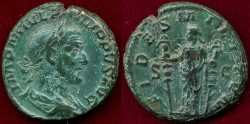 Ancient Coins - PHILIP I  244-245 AD  FIDES  AS