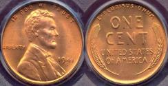 Us Coins - 1941-S LINCOLN CENT MS67RD   PCGS