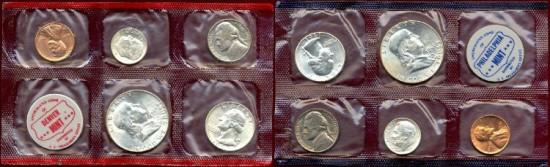 US Coins - 1961 MINT SET......  CHOICE UNCIRCULATED SET