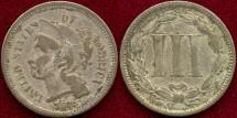 Us Coins - 1872 Nickel 3c..... FINE