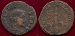 Ancient Coins - PHILIP II  246-247 AD... DACIA.. Sestertius