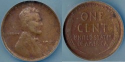 Us Coins - 1922 PLAIN  1c ...CERTIFIED..... EXTRA FINE