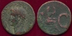 Ancient Coins - AUGUSTUS issued by TIBERTIUS 15-16 AD  Bronze AS (Livia)