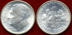 Us Coins - 1948-S  10c .... GEM UNCIRCULATED