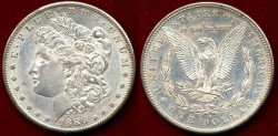 Us Coins - 1886-S $1 Morgan ..... UNCIRCULATED