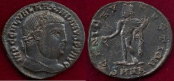 Ancient Coins - GALERIUS as Caesar.... FOLLIS  193-305 AD