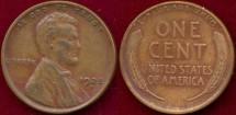 Us Coins - 1925-D  1c  Choice EXTRA FINE
