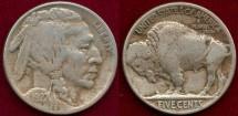 Us Coins - 1927-S BUFALO 5c   VERY FINE