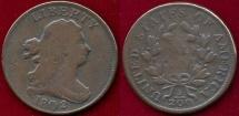 Us Coins - 1802/00  HALF CENT  FINE