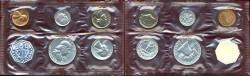Us Coins - 1961 GEM  PROOF SET... in original envelope