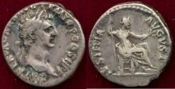 Ancient Coins - NERVA  96 AD Denarius