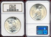 Us Coins - 1925  PEACE  $1 ...... NGC MS66  GEM  UNCIRCULATED