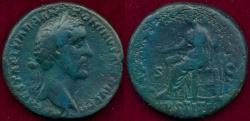 Ancient Coins - ANTONINUS PIUS 138-161 AD  Bronze AS