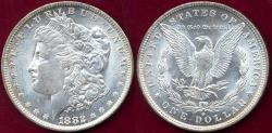 Us Coins - 1882-O MORGAN $1 MS64